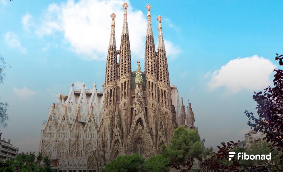 Sagrada Familia Fibonad
